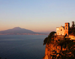 Vico Equense on Sorrento Coast