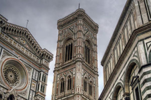 Duomo, Campanile di Giotto and Brunelleschi's Cupola in Florence