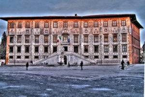 Piazza dei Cavalieri knights square in Pisa