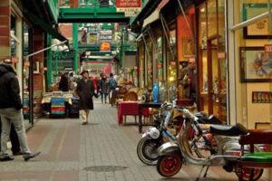 Saint Ouen flea market in Paris