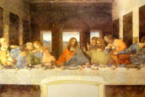 The Last Supper of Leonardo da Vinci in Milan
