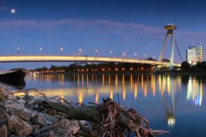 The New Bridge in Bratislava
