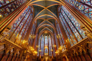The Sainte-Chapelle in Paris