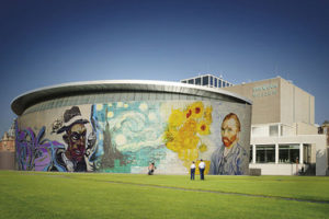 The Van Gogh Museum in Amsterdam