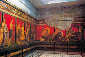The-villa-of-the-mysteries-in-Pompeii