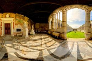 The monumental graveyard of pisa