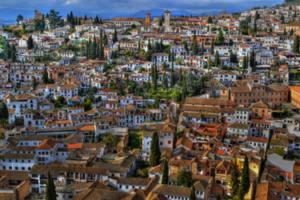 Albayzin district of Granada