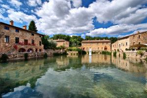 Bagno Vignoni, Siena surrondings