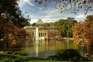 Buen Retiro Park in Madrid
