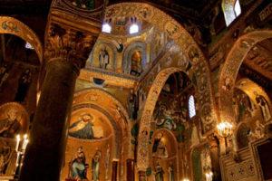 Cappella Palatina and Palazzo dei Normanni in Palermo
