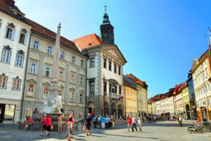 Civic Square in Ljubljana