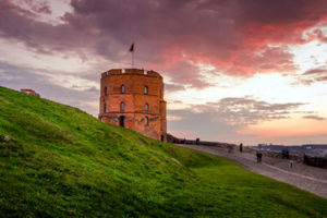 Gediminas Tower and the Vilnius Castle