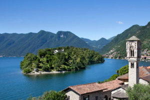 Isola Comacina in Lake Como