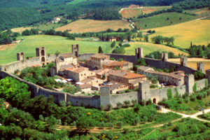Monteriggioni, Siena surroundings