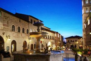 Palazzo del Capitano del Popolo, Palazzo dei Priori and Torre del Popolo in Assisi