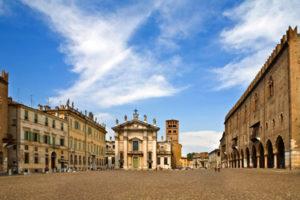 Piazza Sordello, and Mantua Cathedral