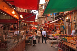 Popular markets in Palermo