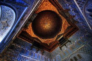 Reales Alcazares in Seville