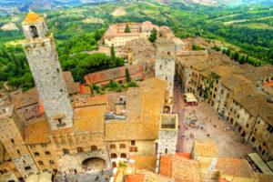 San Gimignano, Siena surroundings