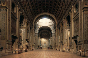 Sant'Andrea Church in Mantua