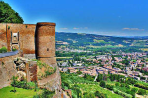 The Albornoz Fortress Orvieto