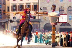 The Antiques Fair and the Giostra del Saracino in Arezzo