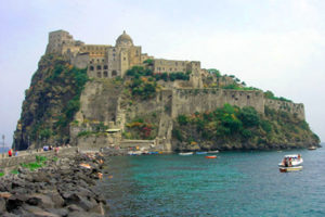 The Aragonese Castle in Ischia