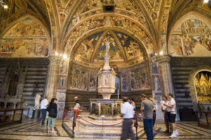 The Baptistery of Siena