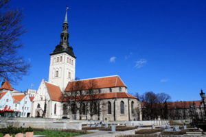 The Basilica of St. Nicholas in Tallinn