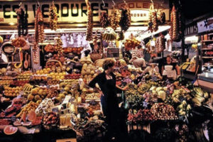 The Boqueria Market in Barcelona