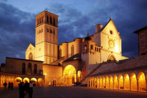 The Cathedral of San Francesco in Assisi