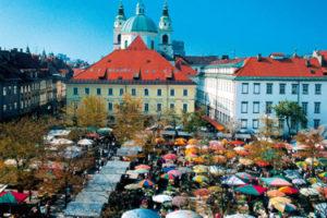 The Central Market in Ljubljana