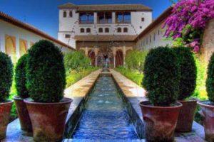 The Generalife in Granada