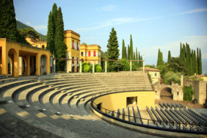 The Italian Vittoriale, Lake Garda