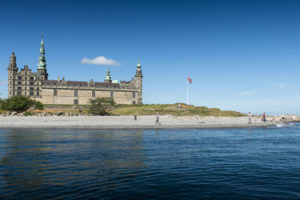 The Kronborg Castle in Copenhagen