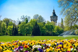The Margaret Island in Budapest
