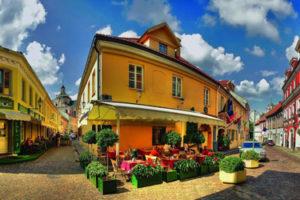 The Old Town in Vilnius
