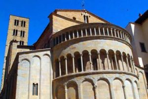 The Pieve of Santa Maria in Arezzo