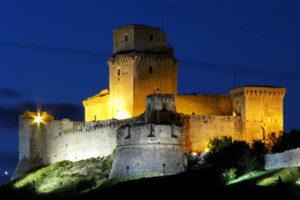 The Rocca Maggiore in Assisi
