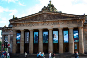 The Scottish National Galleries in Edinburgh