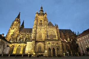 The St. Vits Cathedral in Prague