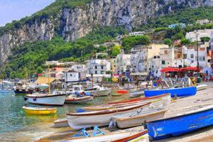 The Tour of the Capri island