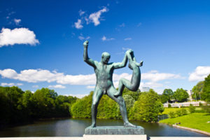 The Vigeland Park in Oslo