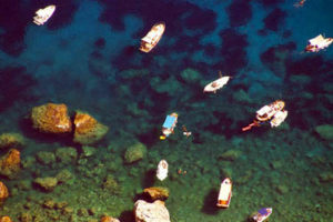 The beaches of Capri