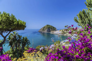The beaches of Ischia