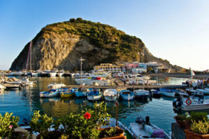 The burg of Sant'Angelo in Ischia