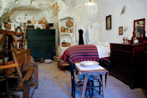 The cave – house of Matera
