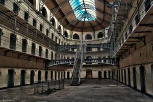 The prison of Kilmainham Gaol in Dublin