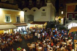 The small square – La Piazzetta in Capri