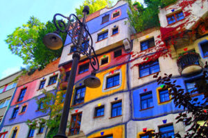 The world of Hundertwasser in Vienna
